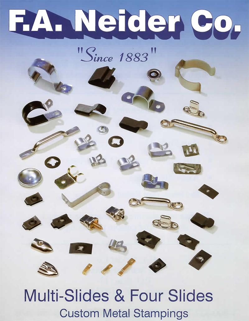 Fa Neider Co Custom Metal Stampings